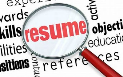 RESUMES — helpful tips